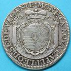 Photo numismatique  MONNAIES MONNAIES DU MONDE BELGIQUE LIEGE Siège vacant de 1723-1724. Patagon de 1724.