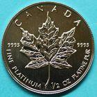 Photo numismatique  MONNAIES MONNAIES DU MONDE CANADA ELIZABETH II (depuis 1952) 20 dollars en platine de 1995.
