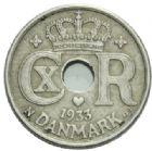 Photo numismatique  MONNAIES MONNAIES DU MONDE DANEMARK CHRISTIAN X (1912-1947) 10 ore de 1933.