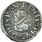 Photo numismatique  MONNAIES MONNAIES DU MONDE ESPAGNE PHILIPPE III (1598-1621) Demi gros.