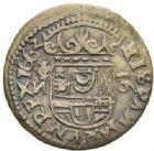 Photo numismatique  MONNAIES MONNAIES DU MONDE ESPAGNE PHILIPPE IV (1621-1665) 16 maravedis.